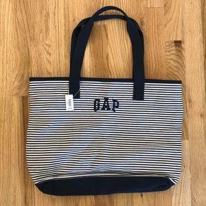 Gap Shoulder Bag Striped Tote